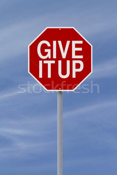Give It Up  Stock photo © lorenzodelacosta