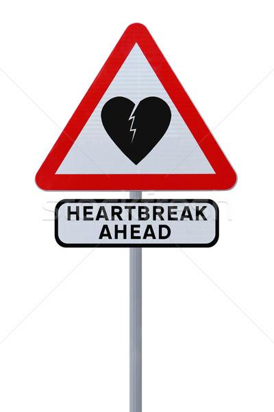 Beware of Heartbreak  Stock photo © lorenzodelacosta