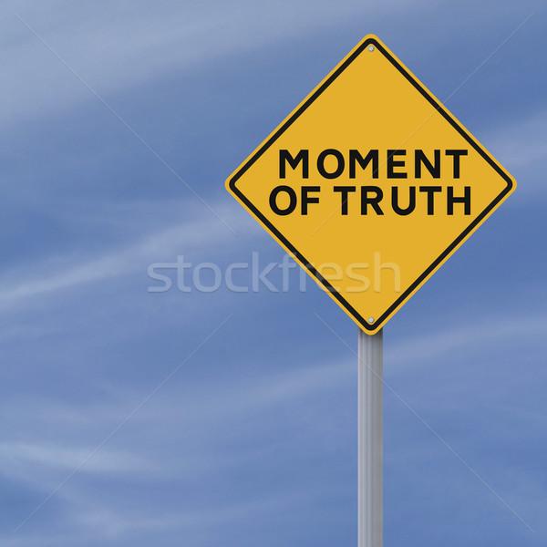 Moment of Truth  Stock photo © lorenzodelacosta