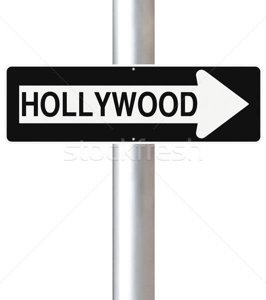 This Way to Hollywood  Stock photo © lorenzodelacosta