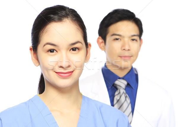 медицинской персонал женщину человека мелкий Сток-фото © lorenzodelacosta