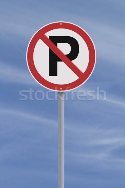 Do Not Park Here  Stock photo © lorenzodelacosta