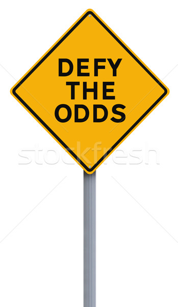 Defy The Odds  Stock photo © lorenzodelacosta