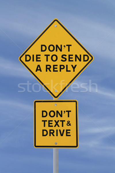 Dying To Send A Reply?  Stock photo © lorenzodelacosta
