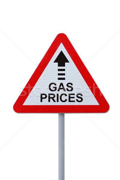 Gas Prices Up! Stock photo © lorenzodelacosta