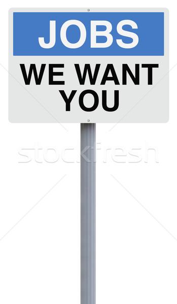 We Want You  Stock photo © lorenzodelacosta