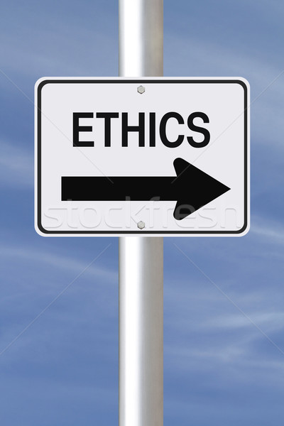 Ethics This Way  Stock photo © lorenzodelacosta