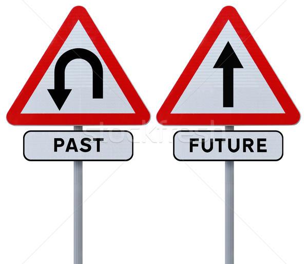Past and Future  Stock photo © lorenzodelacosta