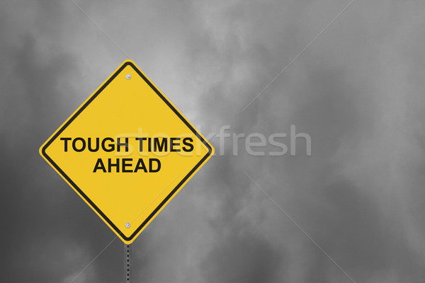 Tough Times Ahead Stock photo © lorenzodelacosta