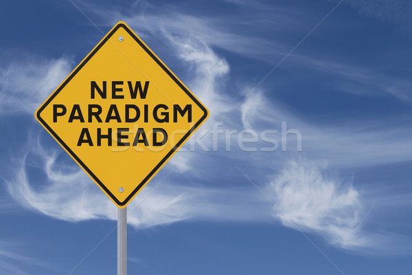 New Paradigm Ahead  Stock photo © lorenzodelacosta