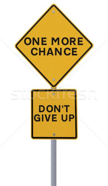 One More Chance  Stock photo © lorenzodelacosta