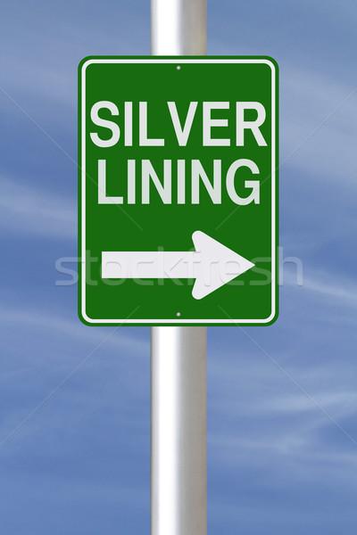 Silver Lining  Stock photo © lorenzodelacosta