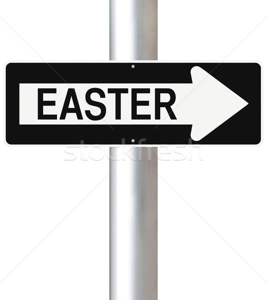 Easter This Way   Stock photo © lorenzodelacosta