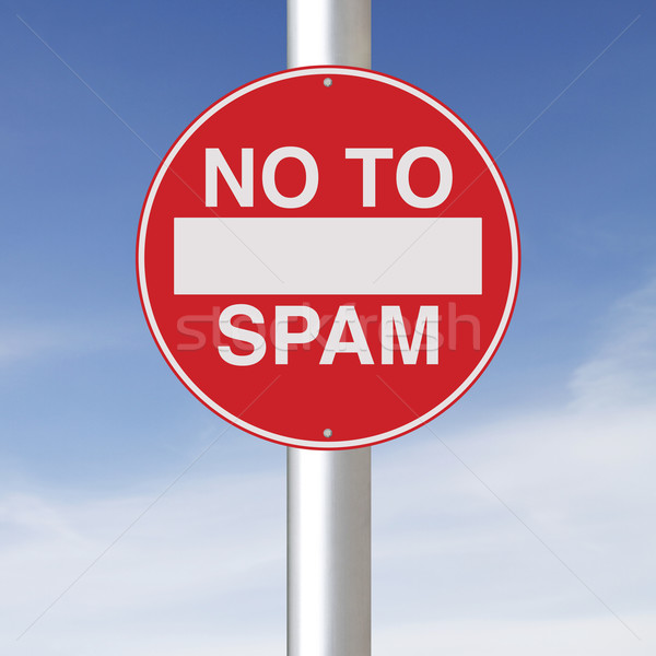 No To Spam  Stock photo © lorenzodelacosta