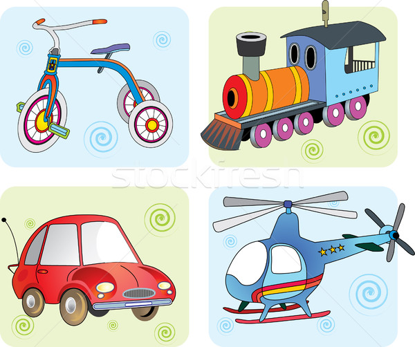 Vector illustration transport Stock photo © lossik