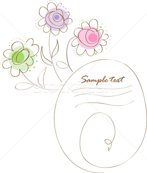 Illustration vector card Stock photo © lossik