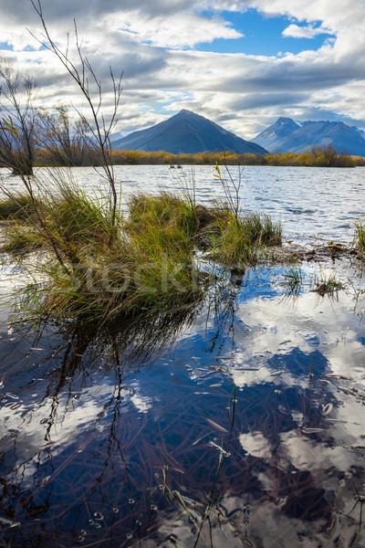 Glenorchy lagoon in New Zealand Stock photo © lostation