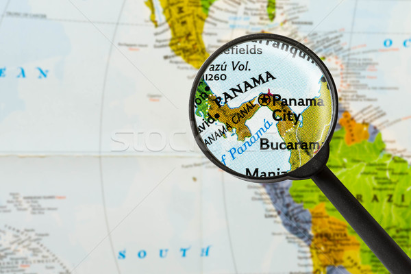 map of Republic of Panama  Stock photo © lostation