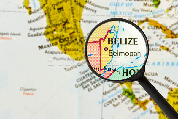 map of Belize  Stock photo © lostation