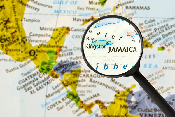 map of Jamaica   Stock photo © lostation