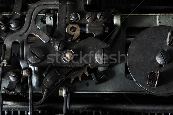 close up of Vintage typewriter  Stock photo © lostation