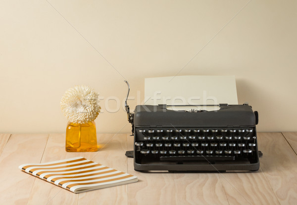 Image of vintage typewriter  Stock photo © lostation