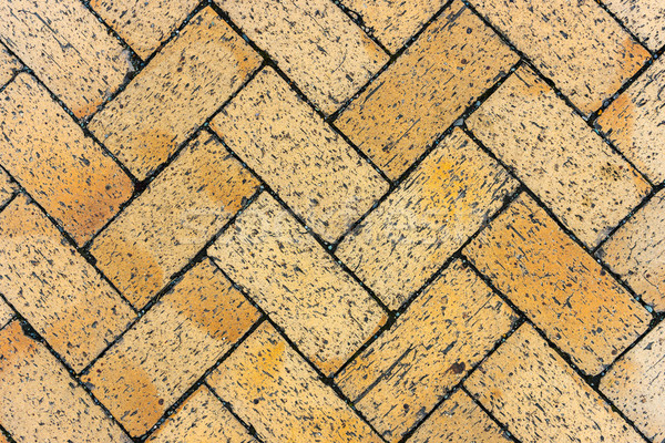 herringbone brick pattern  Stock photo © lostation
