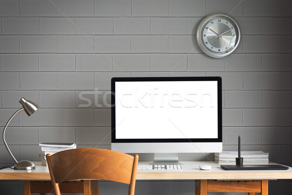 working table Stock photo © lostation