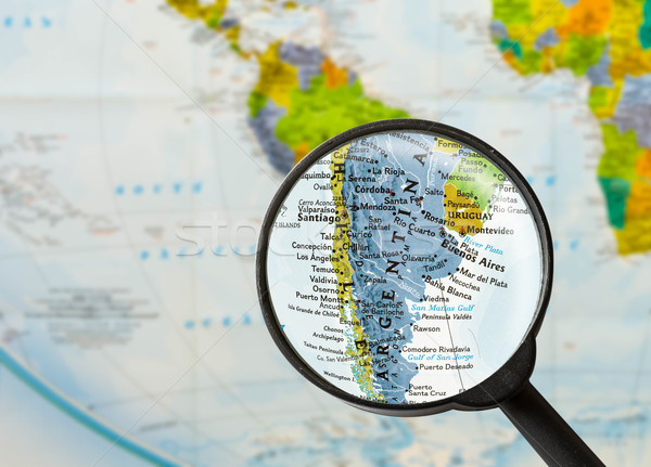 map of Argentine Republic  Stock photo © lostation