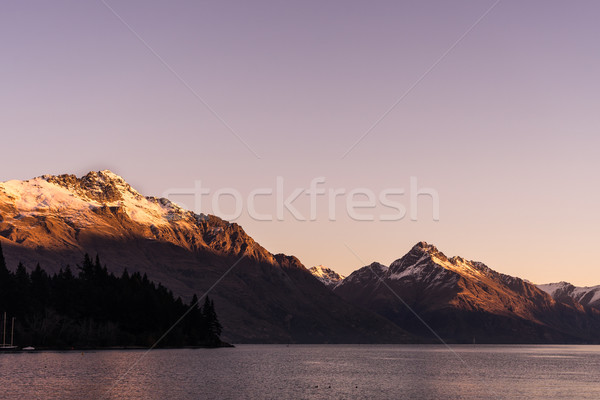 view of Lake Wakatipu and Cecil peak  Stock photo © lostation