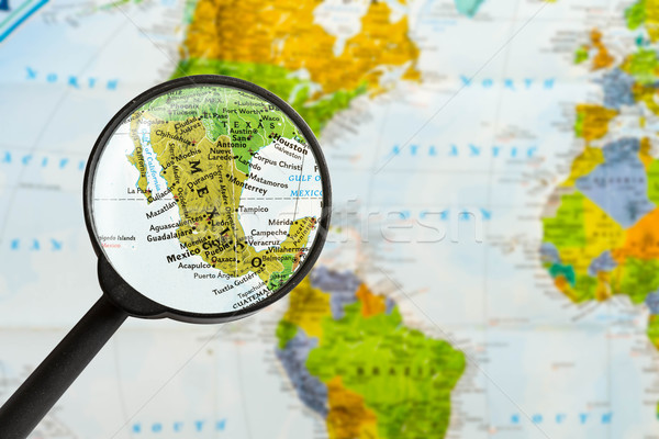 map of United Mexican States  Stock photo © lostation