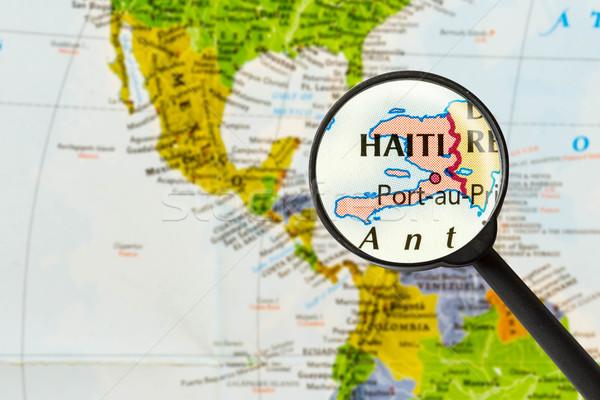 map of Republic of Haiti  Stock photo © lostation