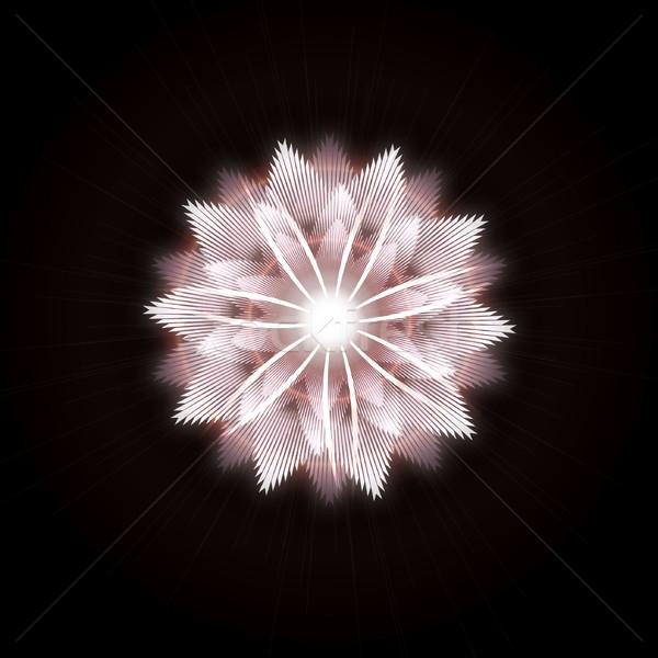 Zdjęcia stock: Jasne · star · wybuch · świetle · efekt