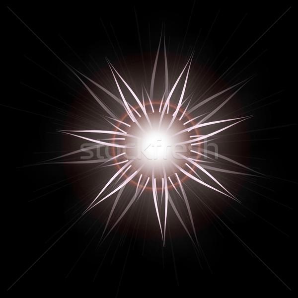 Parlak star ışık etki Stok fotoğraf © Loud-Mango