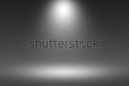 Prodotto riflettori nero buio stanza fotografo Foto d'archivio © Loud-Mango