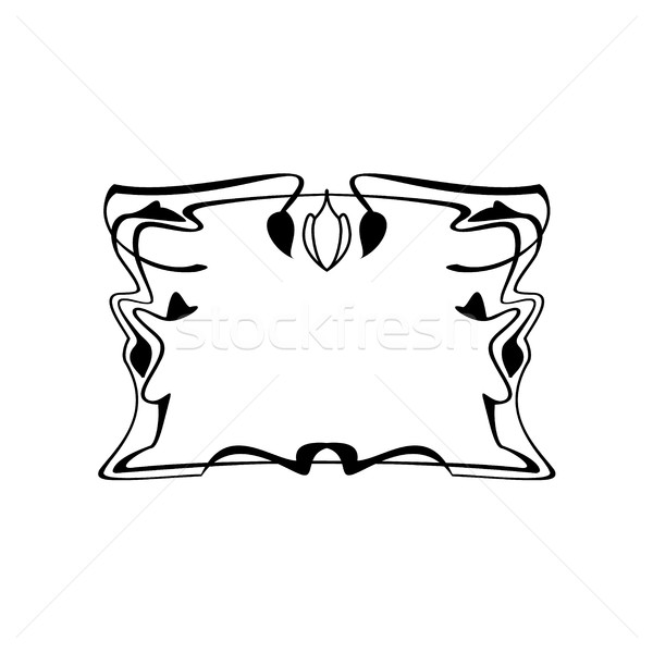 Stok fotoğraf: Bağbozumu · kare · çerçeve · dekoratif