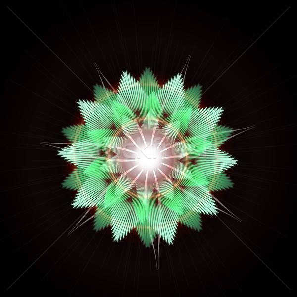 Jasne star wybuch świetle efekt Zdjęcia stock © Loud-Mango