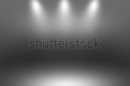 Product spotlight zwarte donkere kamer fotograaf Stockfoto © Loud-Mango