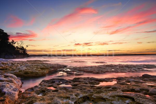 Sunset Murrays Beach Australia Stock photo © lovleah