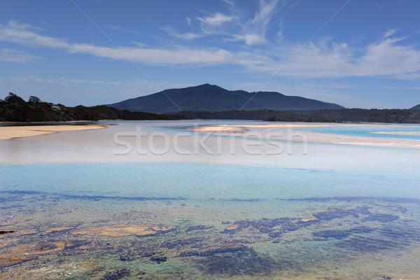 Wallaga Mouth views to Mt Gulaga Australia Stock photo © lovleah