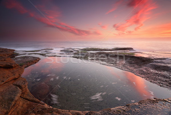 Stock photo: Sunrise at Coogee, Sydney Australia