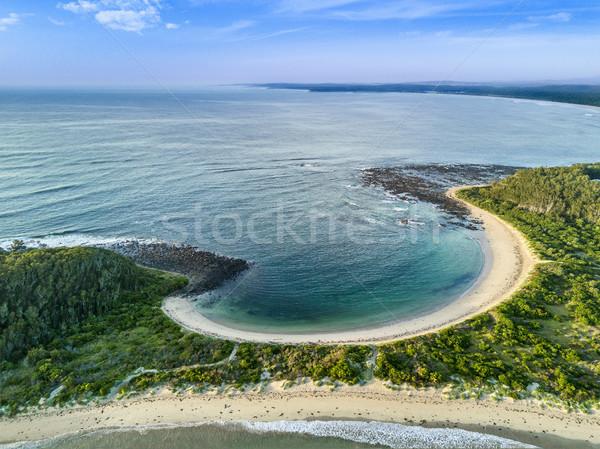 Spugen strand zuiden zee oceaan Stockfoto © lovleah