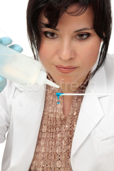 Science forensic investigator Stock photo © lovleah