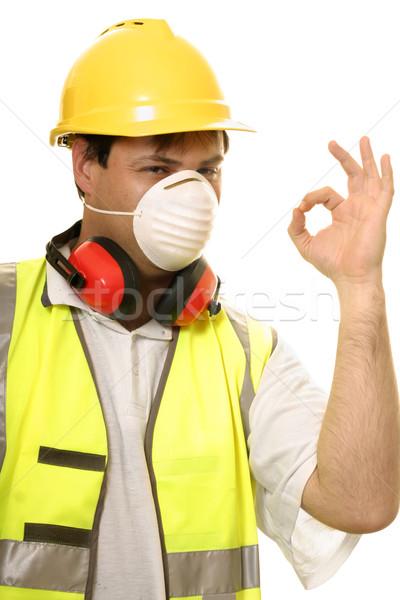 Builder Tradesman Great Work Stock photo © lovleah