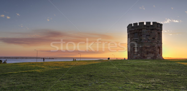 Sunset at Barrack Tower La Perouse Australia Stock photo © lovleah