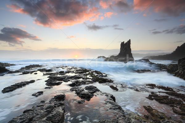 Katedral kaya Avustralya güzel bir güney Stok fotoğraf © lovleah