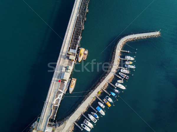 Boat moorings berths at Port Kembla Australia Stock photo © lovleah