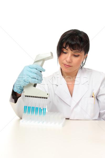 Scientist at work Stock photo © lovleah