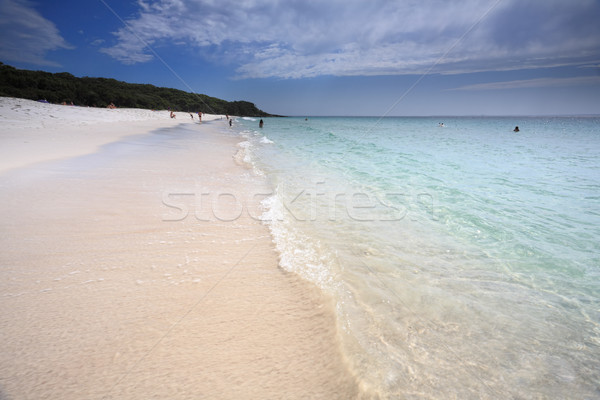 A touch of paradise at Jervis Bay Australia Stock photo © lovleah