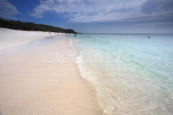 タッチ 楽園 オーストラリア 午前 美しい 夏 ストックフォト © lovleah